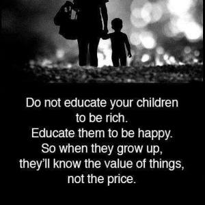 Value not price